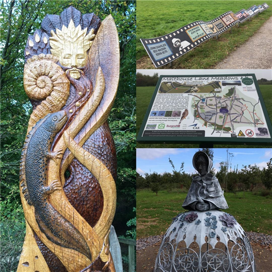 Green Circle Art Trail