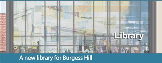 A new library for Burgess Hill